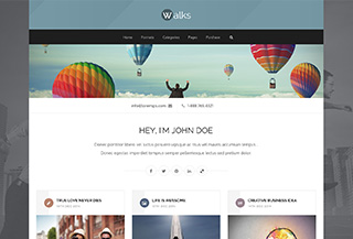 Walks - Masonry Blog Theme