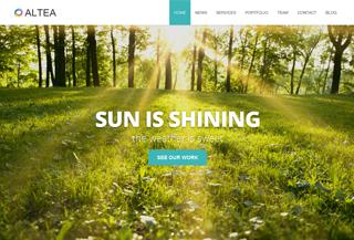 Altea - One Page WordPress