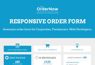WebDevelopment Order Form