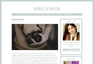 Dreamer - WordPress Blog Theme