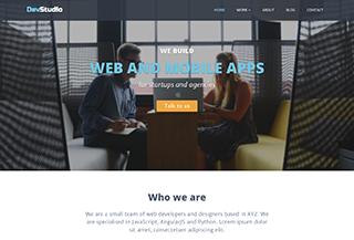 DevStudio - Bootstrap Theme