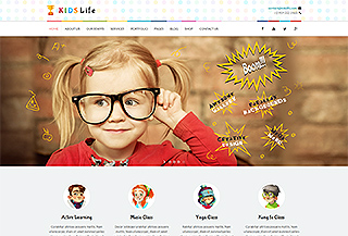Kids life - Kindergarten Theme