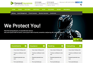 Concord WP Finance Theme