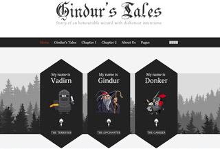 Gindur - A fairytale Blog