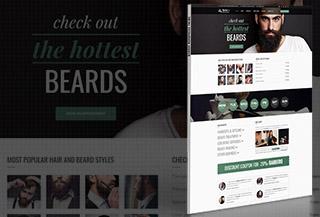 Barber - WordPress Theme
