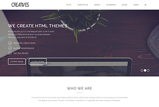 Creatives HTML Template