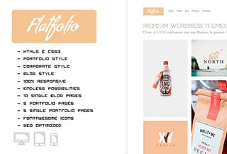 FLATFOLIO - Premium Portfolio