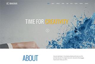 Gracious HTML5 Template