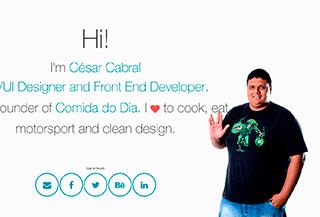 Hi! I'm César Cabral.