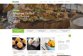 Chow - Culinary WordPress Blog