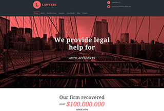 Lawyers PREMIUM THEME