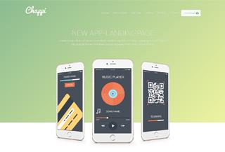 Chappi - App Landing Page