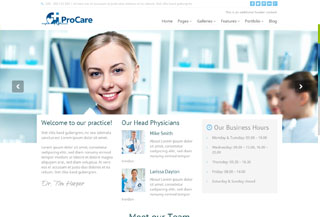 Procare WordPress Medicine
