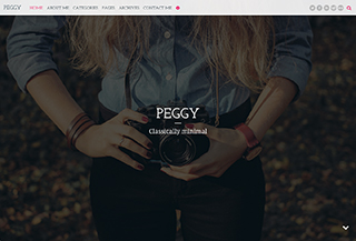 Peggy WP Blog Theme