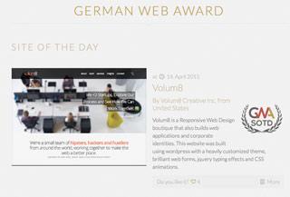 GERMAN WEB AWARD