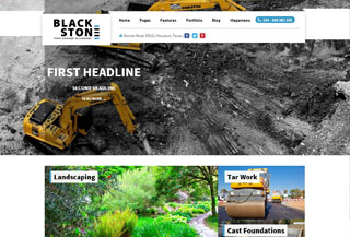 Blackstone WordPress