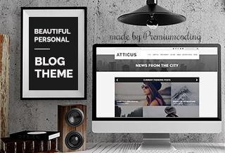 Atticus - Minimal WP Blog