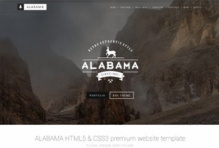 ALABAMA, multipurpose Template