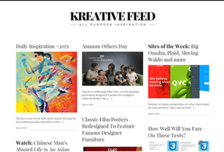 Kreative Feed