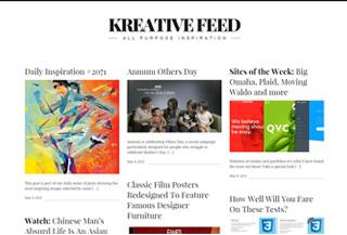 Kreative Feed