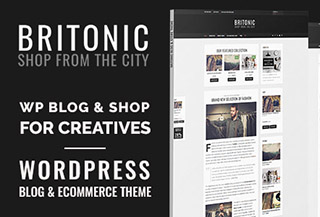 Britonic - ecommerce WordPress