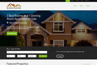 Realestate bootstrap template