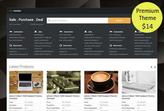Classified Bootstrap Theme