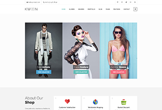 Kwoon Responsive WordPress