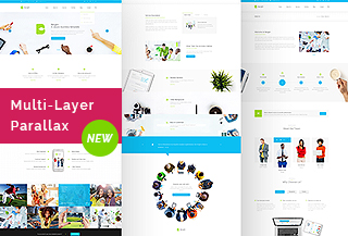 Bergen - Business Template