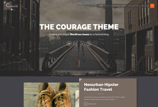 Courage - WordPress Theme