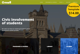 College - Bootstrap Template