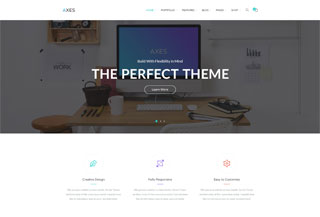 Axes | WordPress Theme