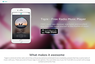 Tigze Free Music Player