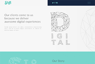 Shift - Creative WP Theme