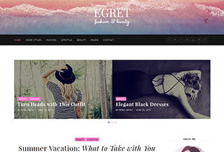 Egret Fashion WP Theme