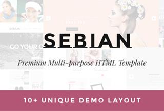 SEBIAN - eCommerce Template
