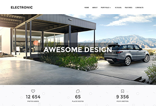Electronic - WordPress Theme
