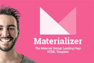 Materializer - Landing HTML