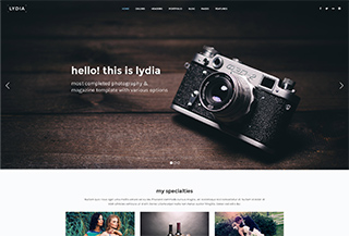 Lydia Responsive