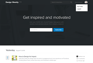 Design Weekly