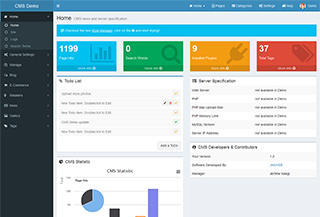 Bootstrap CMS Website Builder