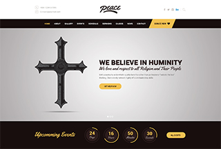 Peace WordPress Theme