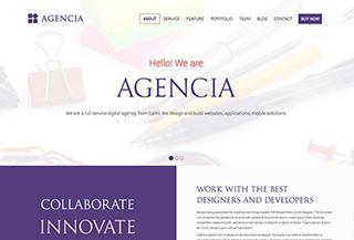 Agencia Onepage Theme