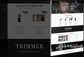 Trimmer - Barber Theme