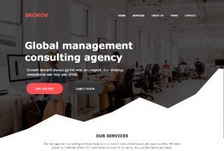 Business HTML/CSS Template