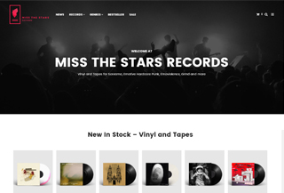 Miss The Stars Records