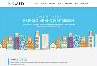 ClassyLite - Free WP Theme