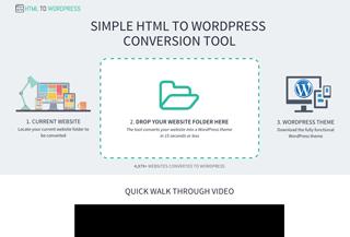 HTML to WordPress