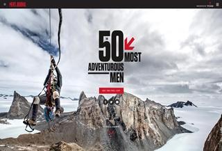 50 Most Adventurers