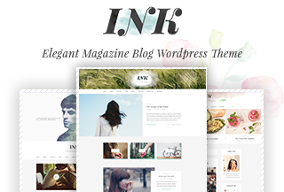 Ink - Magazine & Blog WP Theme